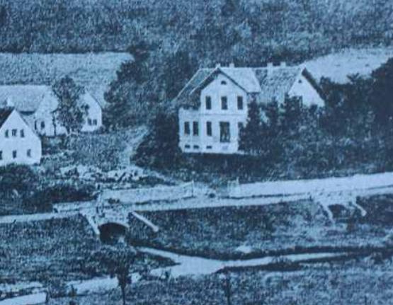 Villa Röper vor 1886