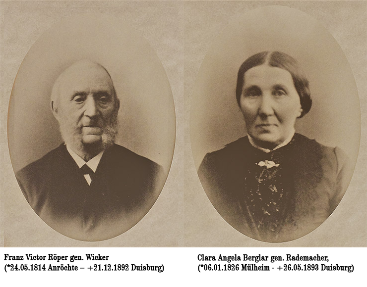 Viktor Röper, Clara Berglar