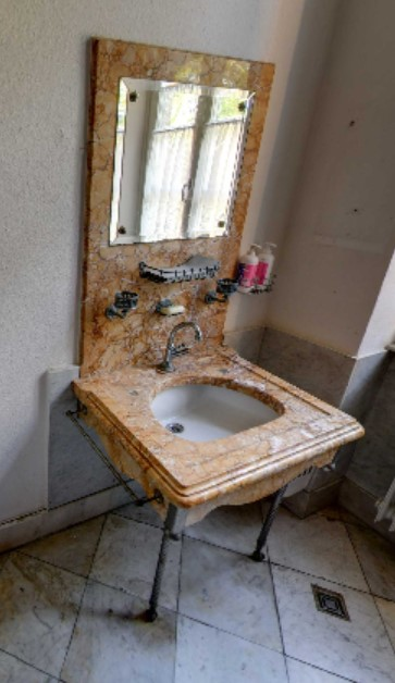Waschtisch in den Sozialräumen